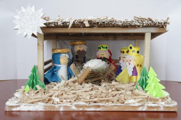Konkurs na najładniejszą bożonarodzeniową szopkę