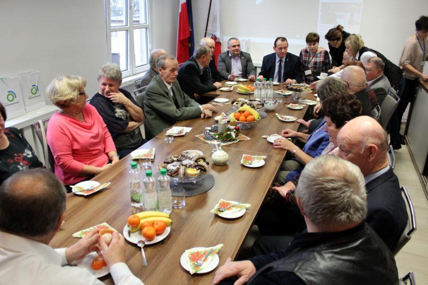 Spotkanie opłatkowe dla emerytowanych pracowników