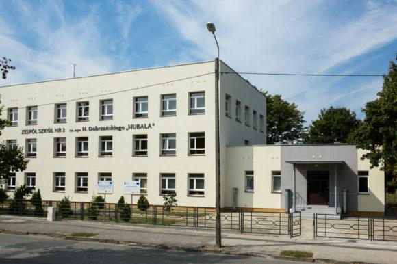 Termomodernizacja kompleksu budynków Zespołu Szkół Nr 2 w Aleksandrowie Kujawskim