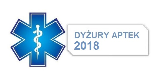 Dyżury aptek w 2018 roku na terenie powiatu