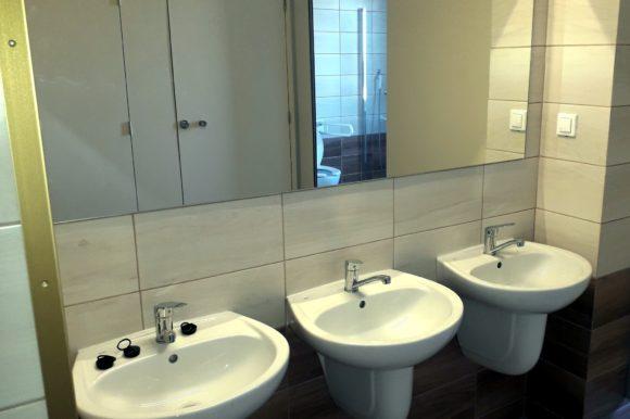 """Inwestycja pn. """"Remont łazienek z przystosowaniem dla osób niepełnosprawnych w Domu Pomocy Społecznej w Zakrzewie"""""""