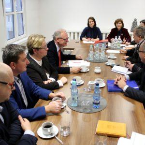 Spotkanie komitetu sterującego w starostwie powiatowym