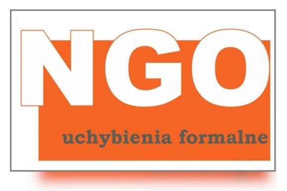 Wykaz uchybień formalnych w ofertach NGO