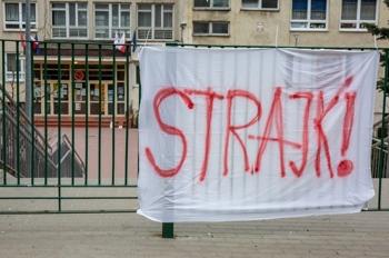 Prośba starosty w związku ze strajkiem nauczycieli