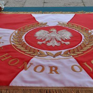 Sztandar dla Komendy Powiatowej PSP