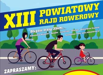 XIII Powiatowy Rajd Rowerowy już wkrótce!