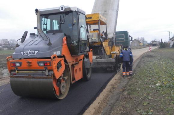 """Przebudowa drogi powiatowej Nr 2528C Żyrosławice – Przybranowo wraz z przebudową mostu, dł. 2,8 km od 5+950 do 8+750"""" – etap III"""""""
