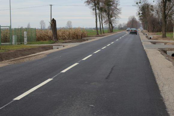 Droga powiatowa Stara Wieś – Nieszawa – kolejny etap przebudowy zakończony