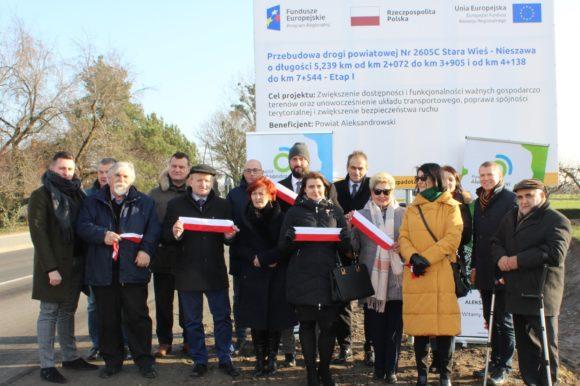 Przebudowa kluczowego odcinka drogi powiatowej, otwierającego szanse dalszego rozwoju gospodarczego powiatu