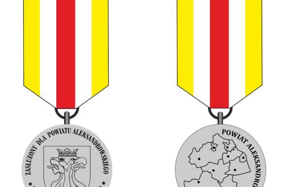 """Wręczono wyróżnienia """"Odznaka Honorowa Powiatu Aleksandrowskiego"""""""