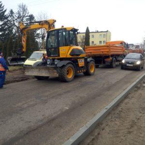 """Przebudowa odcinka drogi powiatowej nr 2603 C """"Ciechocinek – Siutkowo"""" od km 13+350 do km 14+261 (etap II)"""