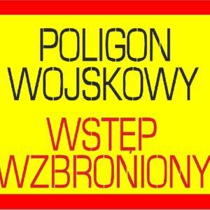 Terminy czasowego zamknięcia drogi wojewódzkiej nr 250 (Służewska) – ćwiczenia artyleryjskie w miesiącu lutym 2020 r.