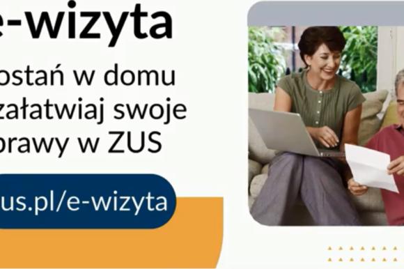 ZUS uruchomił e-wizyty