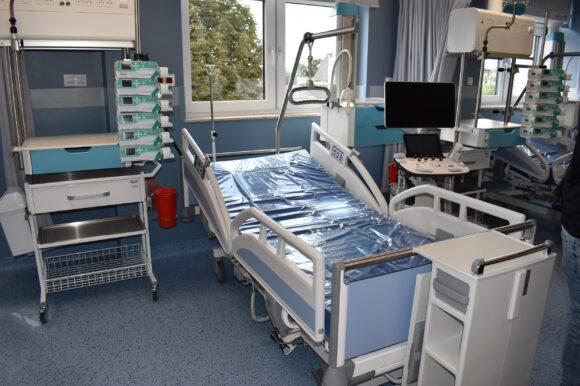 W Powiatowym Szpitalu w Aleksandrowie Kujawskim otworzono nowoczesny oddział intensywnej terapii