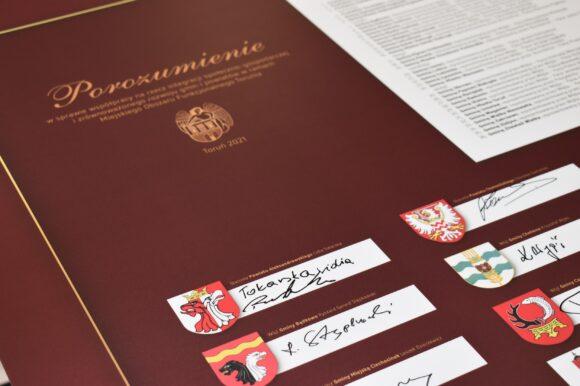 Porozumienie podpisane – Powiat Aleksandrowski w Miejskim Obszarze Funkcjonalnym Torunia